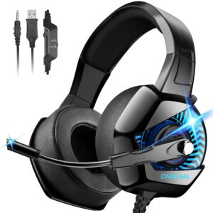 ONIKUMA K6 - Crysis-Type Gaming Headphone