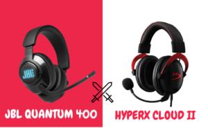 JBL Quantum 400 VS HyperX Cloud 2 - Featured Image