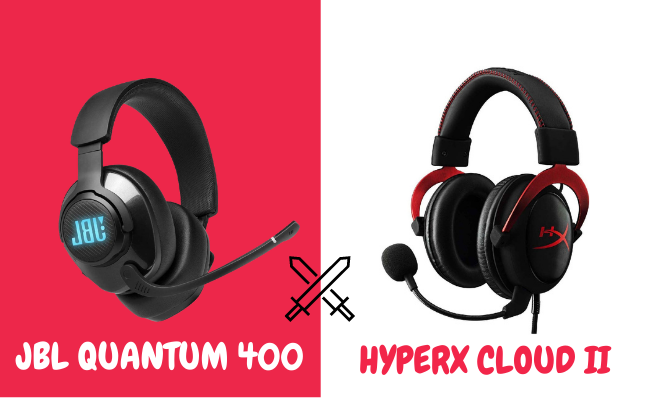 JBL Quantum 400 VS HyperX Cloud 2