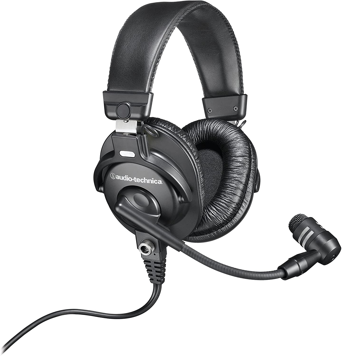 Audio-Technica BPHS1 from wired side view