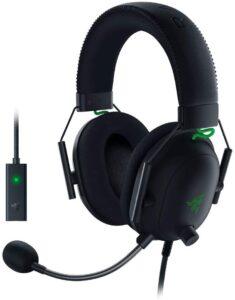 Razer BlackShark V2 headset with DAC Amp