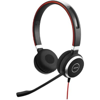 Jabra Evolve 40 UC; Wired Headset for Truck Drivers