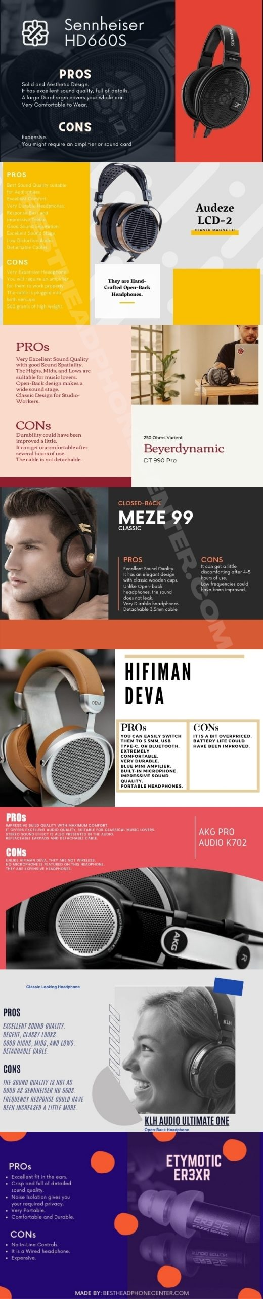 8 Best Headphones for Classical Music with Pros and Cons