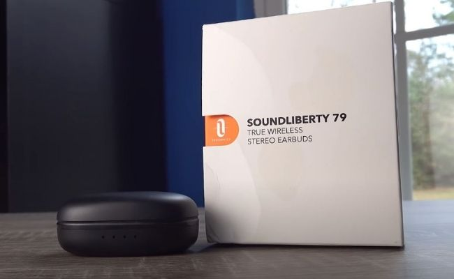 A Picture of Taotronics Sound Liberty 79 earbuds