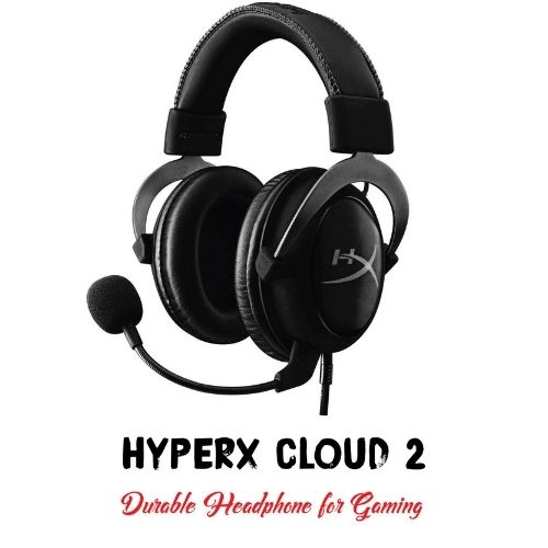 A picture of HyperX Cloud 2 headset