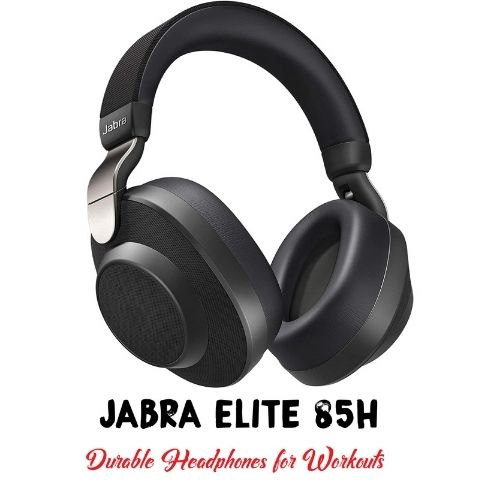 A Picture of Jabra Elite 85h with Its Name at the Bottom